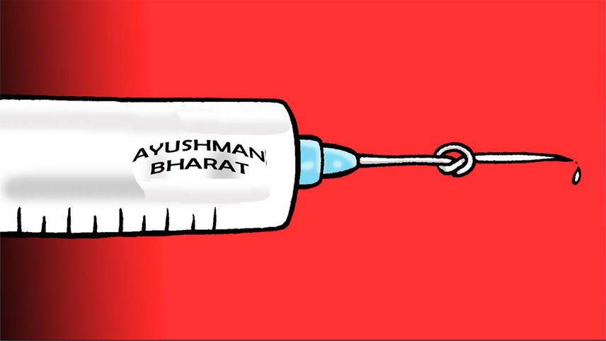 Ayushman Bharat is far away from being fully effective and functioning