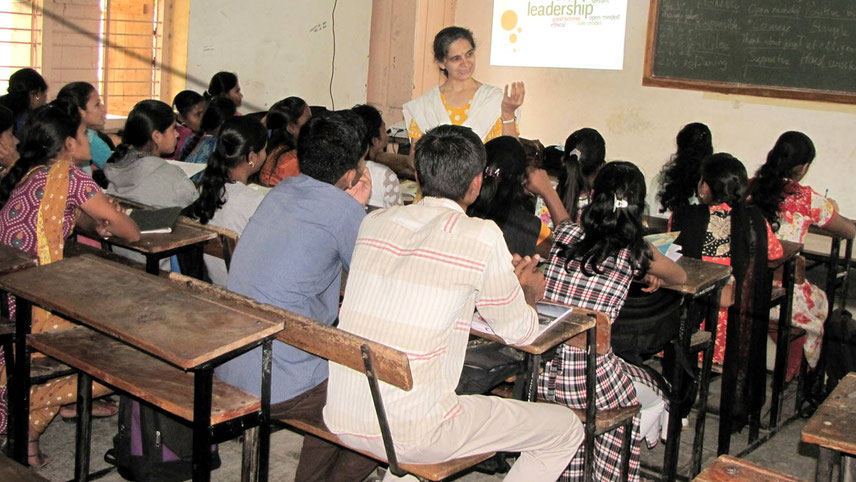 Extentia's CSR arm conducts a communication programme for children from poorer communities