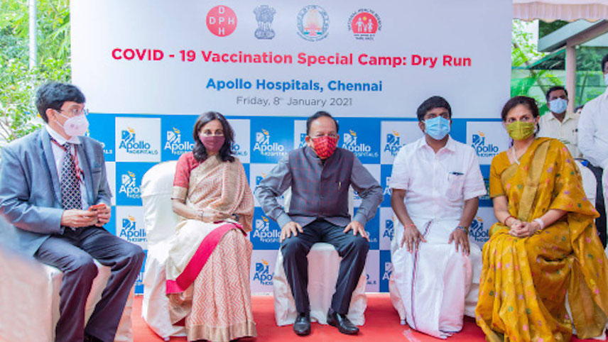 The vaccination drive will demonstrate the capacity of the entire country to pull together, when faced with threats