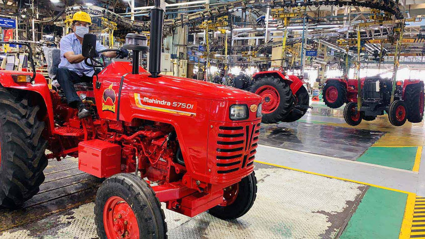 The positive trend for tractors is expected to continue through the festive season