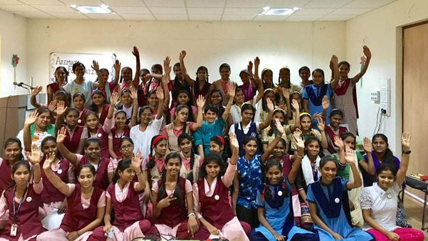 The Foundation has taken 128 girl children from disadvantaged backgrounds under its wing