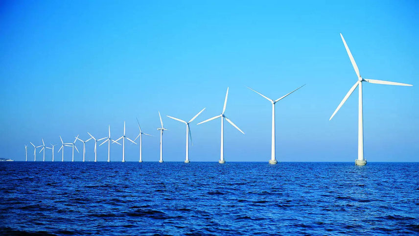 Wind energy is a major component of global green initiatives led by Denmark