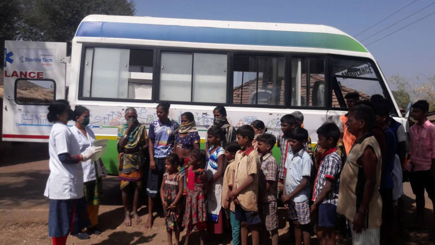 Sterlite Technologies works in tribal villages to dispel fallacies about Covid-19